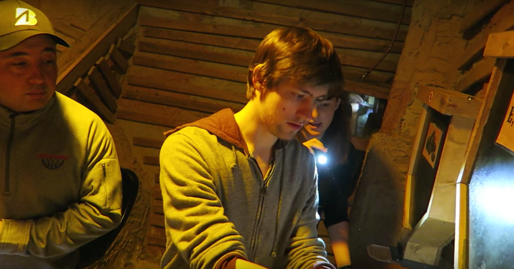 Twitch streamer Sodapoppin in our Gold Rush experience