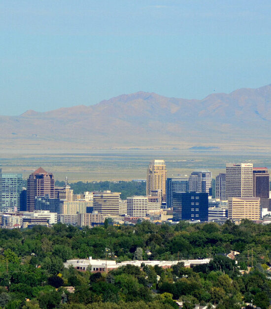 Photo of the Salt Lake City Skyline