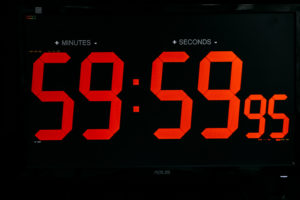 60-Minute Escape Game Clock