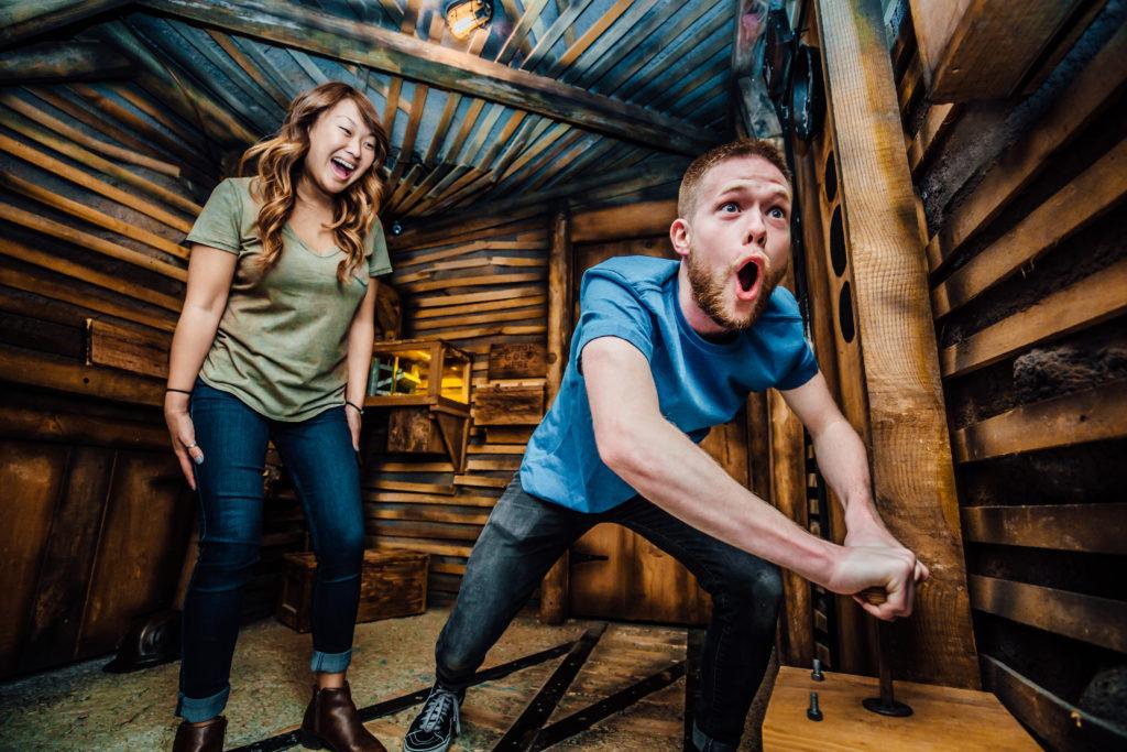 Escape Room Game Couple