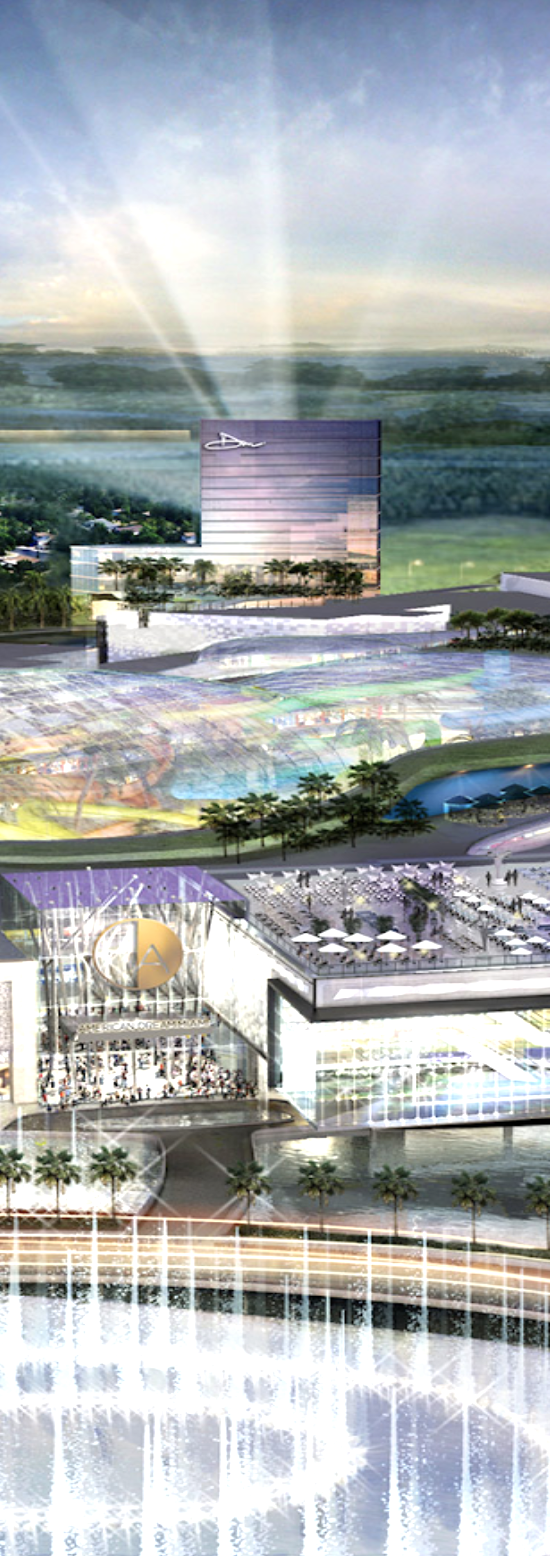 Rendering of the American Dream Mall