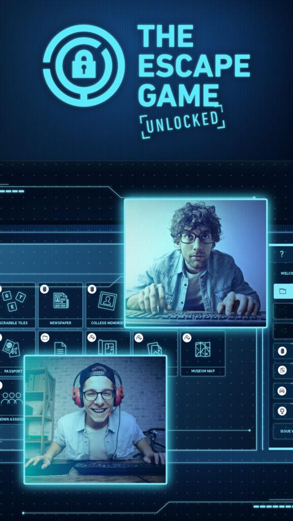 The Escape Game Unlocked virtual escape room