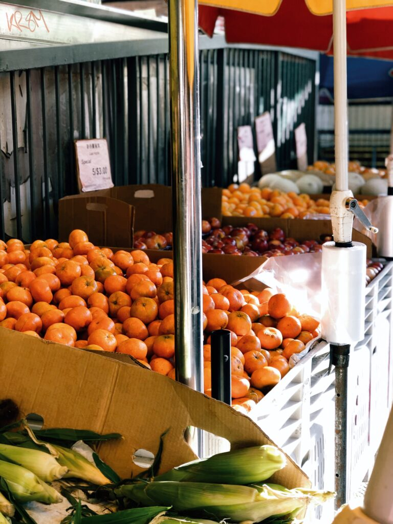 Going to the farmer's market is a thing to do in Jacksonville
